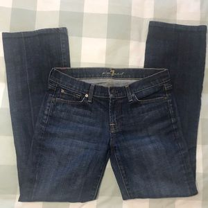 7 For All Mankind Bootcut Jeans - Size 30
